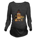 Thanksgiving Friends Long Sleeve Maternity T-Shirt