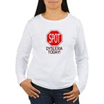 STOP or SPOT Dyslexia Today! Long Sleeve T-Shirt