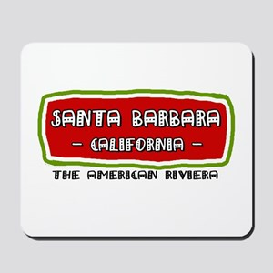 Santa Barbara Mousepad