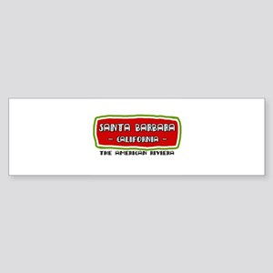 Santa Barbara Bumper Sticker