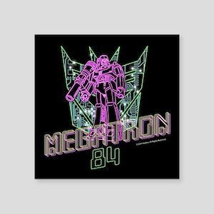 "Megatron 84 Square Sticker 3"" x 3"""