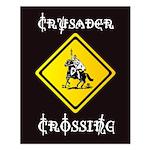 Crusader Crossing Poster (16 X 20)