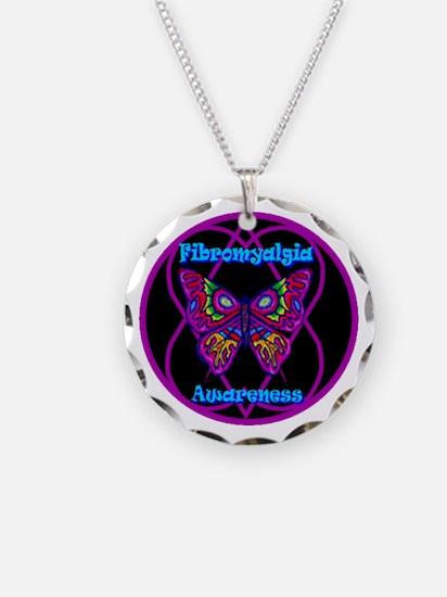 Mod Butterfly Hope-A-Gram Necklace