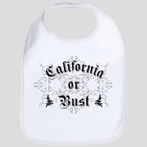 California or Bust Bib