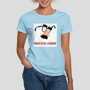 Marxist Women's Pink T-Shirt