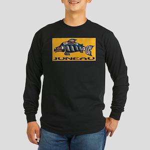 Alaska Juneau Long Sleeve Dark T-Shirt