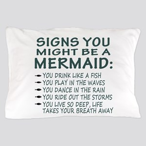 Mermaid Signs Pillow Case