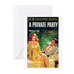 """Greeting (10)-""""A Private Party"""""""