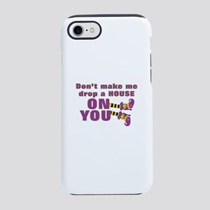 Funny Halloween | Witch's Feet iPhone 7 Tough Case