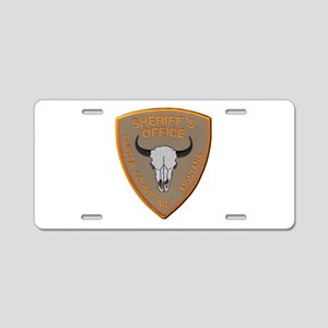 Custer County Sheriff Aluminum License Plate
