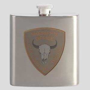 Custer County Sheriff Flask