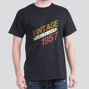 Vintage 1957 Birth Year T-Shirt