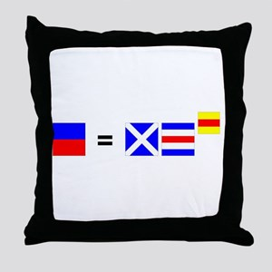 Relativity Throw Pillow