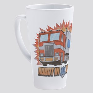 Robot In Disguise 17 oz Latte Mug