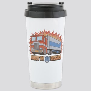 Robot In Disguise 16 oz Stainless Steel Travel Mug