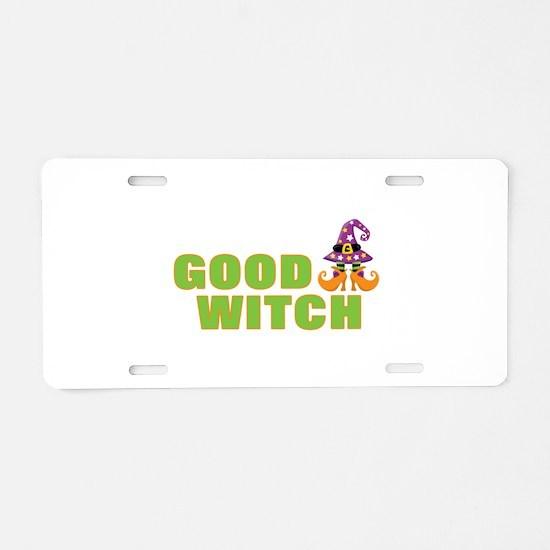 Funny Halloween | Good Witc Aluminum License Plate