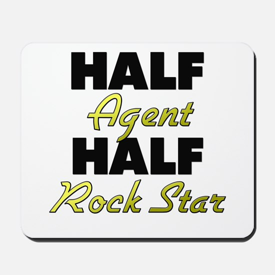 Half Agent Half Rock Star Mousepad