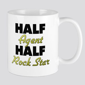 Half Agent Half Rock Star Mugs