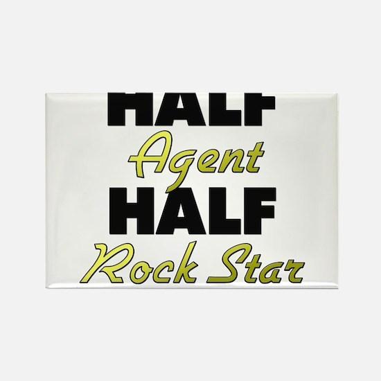 Half Agent Half Rock Star Magnets