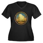 ashevilleflatironbuilding-seal Plus Size T-Shirt
