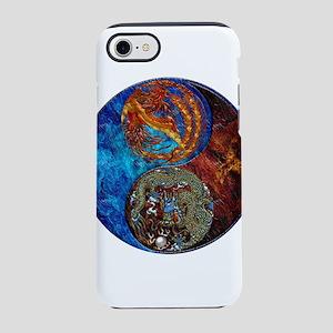 Harvest Moons Firebird Dragon iPhone 7 Tough Case