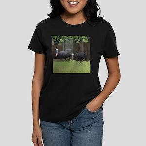 cassowaries Women's Dark T-Shirt