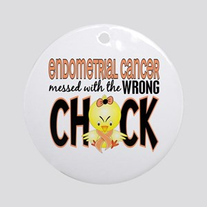 Endometrial Cancer Messed With Wrong Chick Ornamen