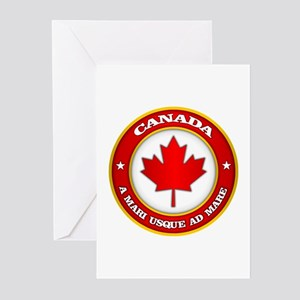 Canada Medallion Greeting Cards