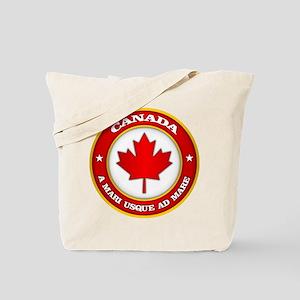 Canada Medallion Tote Bag