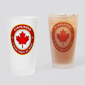 Canada Medallion Drinking Glass