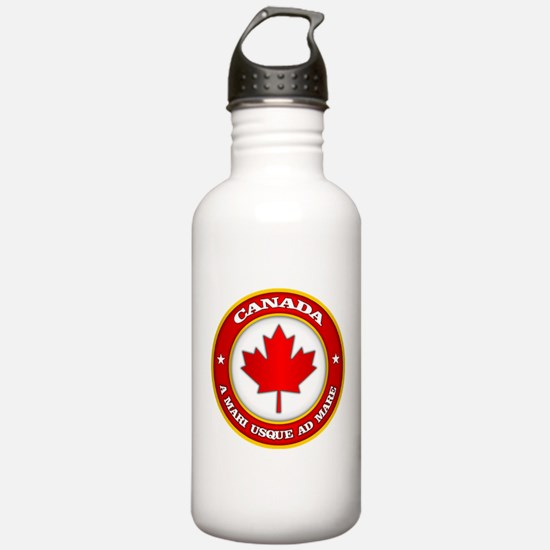 Canada Medallion Water Bottle
