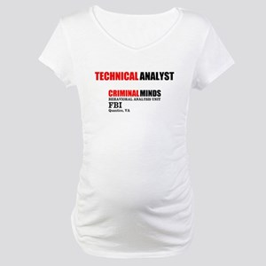 Technical Analyst Maternity T-Shirt