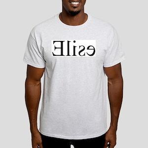 Elise: Mirror Ash Grey T-Shirt