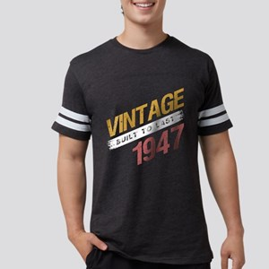 Vintage 1947 Birth Year Mens Football Shirt