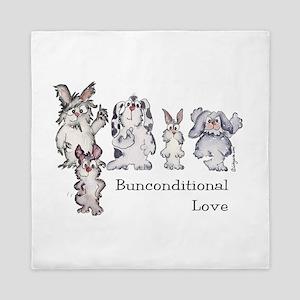 Bunconditional Love Queen Duvet