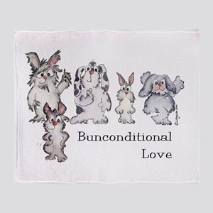 Bunconditional Love Throw Blanket