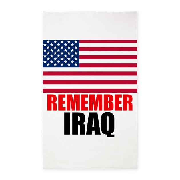 Remember Iraq Area Rug By ApprovedTeaPartyMerchandiseStore