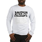 Atheist Shirt (Grey LS) M