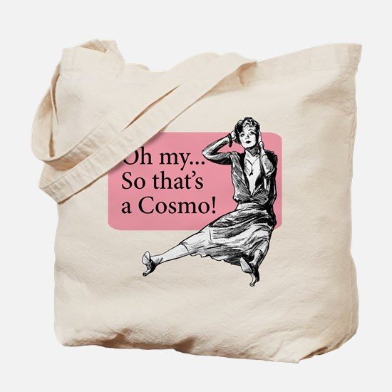 Retro Lady Cosmo - Tote Bag