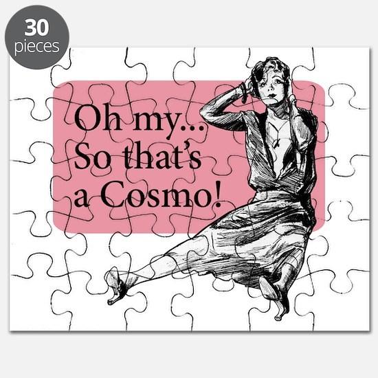 Retro Lady Cosmo - Puzzle
