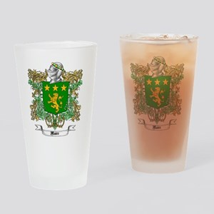 Moore Family Crest 1 Drinking Glass
