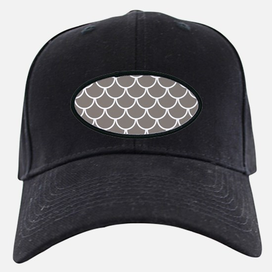 Neutral Brown Fish Scales Pat Baseball Hat