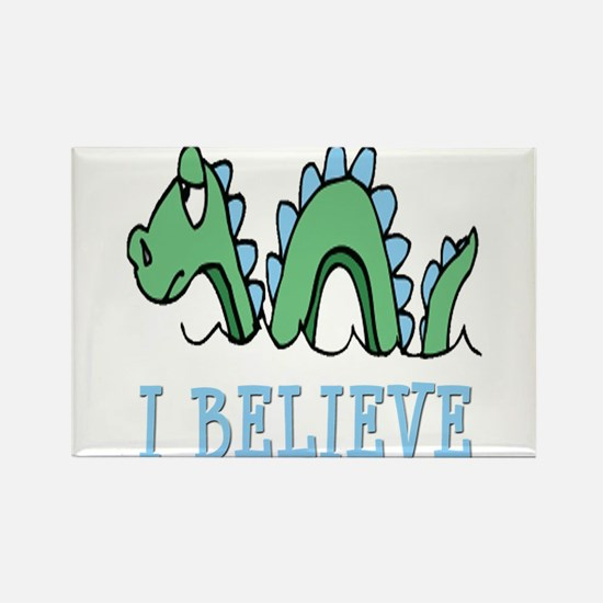 I Believe in Sea Monsters Magnets