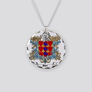 Moore Family Crest 4 Necklace Circle Charm