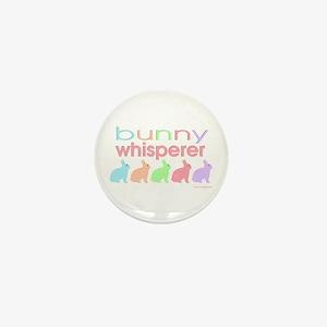 Bunny Whisperer Mini Button