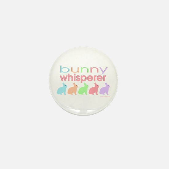 Bunny Whisperer Mini Button