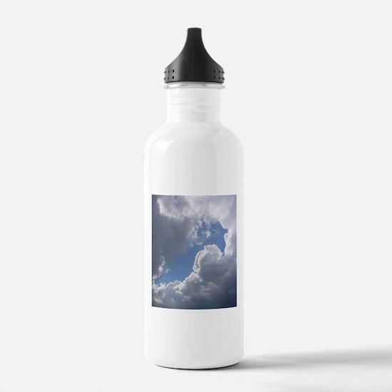 Clouds - Heaven - Weather Water Bottle