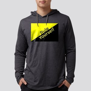 Ancap Flag Rule Yourself Mens Hooded Shirt