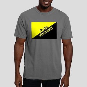 Ancap Flag Rule Yourself Mens Comfort Colors Shirt