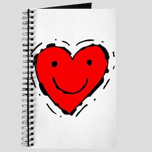 Happy Face Heart Journal